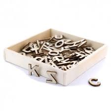 details about wooden letters wooden alphabet 12mm high box of 72 letter embellishments