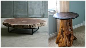 Awesome Tree Trunk Furniture Ideas Contemporary Best Inspiration