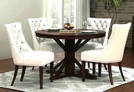 round kitchen table sets dinner for 4 dining wooden set 42