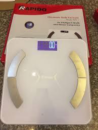 GIÁ TỐT] Cân sức khỏe thông minh Rapido RSB01-S - Có bluetooth - Tặng kèm  pin, Giá siêu tốt 370,000đ! Mua nhanh tay! - Bigomart