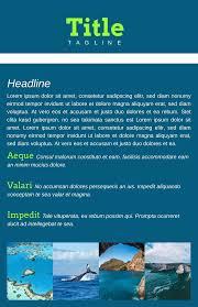 Create Leaflet Online Free Leaflet Design Online Lucidpress