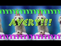 Happy Birthday Avery Happy Birthday Avery Epic Happy Birthday Song Youtube