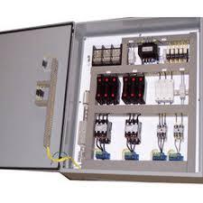 sheet metal 230 v ac ahu starter control panel, ip rating ip33, for Air-Handler Wiring Diagram at Ahu Starter Panel Wiring Diagram