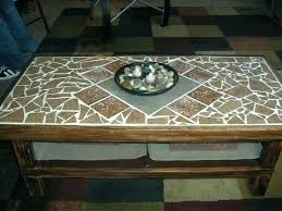 how to make a mosaic table top for outdoors tile table top tile coffee tables best