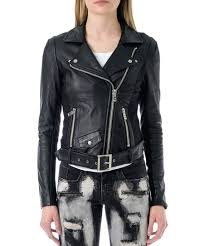 Parasuco Size Chart Parasuco Black Belted Leather Moto Jacket Women