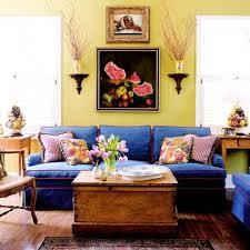 selecting wall color yellow living