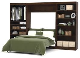 Wall bed kit King Size Bestar Pur Wall Bed Kit Chocolate Contemporary Murphy Beds By Beyond Stores Spechtimmobilienserviceinfo Bestar Pur Wall Bed Kit Chocolate Contemporary Murphy Beds By
