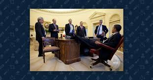 obama oval office desk. A Photograph Of President Obama With His Feet On Oval Office Desk Is Genuine, But The Act It Captures Neither \ I