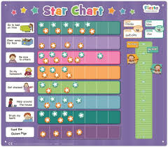 How To Do A Star Chart Fiesta Crafts Magnetic Extra Large Star Chart