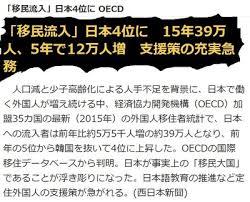 Image result for 移民大国へ舵を切った日本。外国人労働者50万人増で起こる6つの問題とは