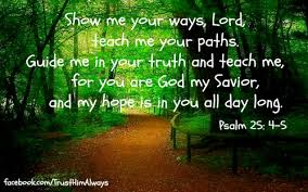 Image result for Teach me Lord your wa