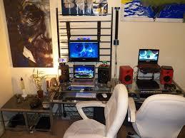 home office setups. PC \u0026 Mac Workstation Setup Home Office Setups F