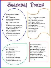the best seasons poem ideas seasons calendar seasons poems ks1 google search