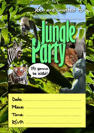 Jungle Theme Birthday Invitations Free Printable Jungle Party Invitations Download Them Or Print