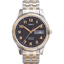 men s watches kmart timex men s dress watch black dial