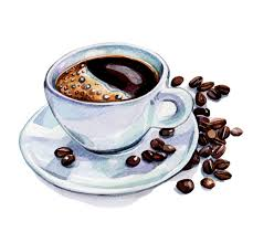 Image result for coffee cup drawing