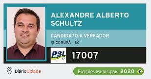 Alexandre Alberto Schultz 17007 (PSL) Candidato a Vereador | Eleições 2020