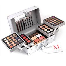 makeup box cosmetic case makeup artist special 4 brushes 4 eyebrow pencil with eyeliner 20 color