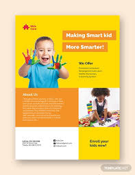 Samples Of Daycare Flyers 21 Beautiful Day Care Flyer Templates Psd Word Ai Eps
