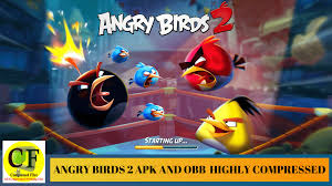 Angry Birds 2 download apk and data Highly Compressed