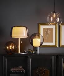 Tafellamp Evedal Grijs In Verlichting Ikea Living Room En Staande