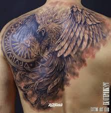 значение тату с орлом на груди руке плече эскизы 125 фото