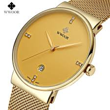watches thin wrists promotion shop for promotional watches thin 2016 new luxury brand men s watches stainless steel band analog display quartz men wrist watch ultra thin dial men s watches