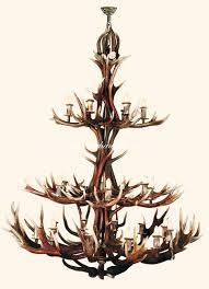 antler chandelier 10535 24 larger image