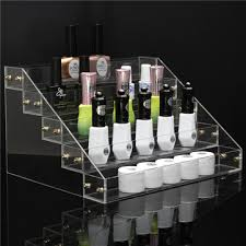 Acrylic Tiered Display Stands 100 Tiers 100 Bottle Acrylic Nail Polish Display Stand Rack Cosmetic 79