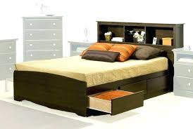 king size bed with storage drawers. King Size Bed With Storage Compact Platform Bedroom Exquisite Drawers Headboard Q