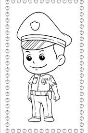 The best part about them? Police Officer Coloring Pages Kids Activities Blog