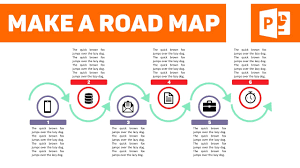 Road Map Powerpoint How To Create A Sleek Looking Roadmap On Powerpoint