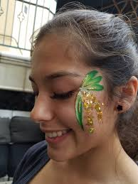 photo of poppy face painting san jose ca united states rosie mccann s