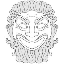 Greek Templates Greek Mask Template Free Printable Papercraft Templates