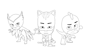 Pj Masks Romeo Coloring Page Unique Pj Masks Coloring Pages To And