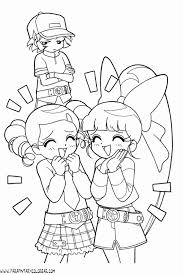 Powerpuff Girls Z Coloring Pages Google Search Anime Coloring Pages