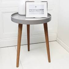 medium size of side tables notonthehighstreet contemporary lamp for living room round wood hickory white table