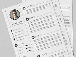 Cv Resume Full Set Print Template With Ms Word By Daniel E Graves