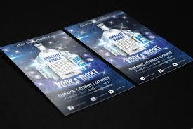 night flyer templates psd vector eps jpg amazing vodka night flyer