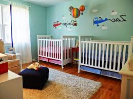 Mickey Mouse Bedroom Decor Baby Boy Room Colors Car Toys Wall Sticker Varnished Wood Floor