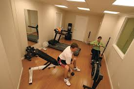 basement gym ideas. A Finished Basement Is A Great Place For Home Gym Ideas C