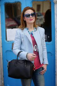 zara pastel blue faux leather biker jacket givenchy antigona bag fashion and cookies