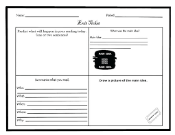 Draw Tickets Template Exit Ticket Template Word Demiks Co