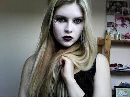 gothic barbie inspired make up tutorial