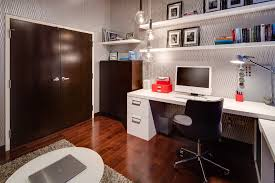 wallpaper for home office. Industrial Office Design Ideas Home With Silver Wallpaper Warehouse For G