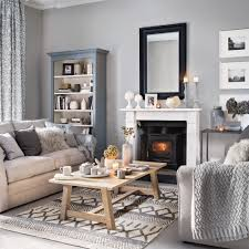 grey furniture living room. 7. Introduce Plenty Of Pattern And Texture Grey Furniture Living Room Ideal Home