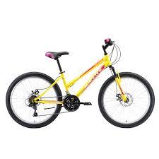 <b>Велосипед Black One Ice</b> Girl 24 D желтый/розовый/белый ...