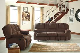 Reclining Living Room Furniture Sets Buy Ashley Furniture Roan Cocoa Reclining Living Room Set