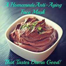 a quick and easy homemade anti aging mask
