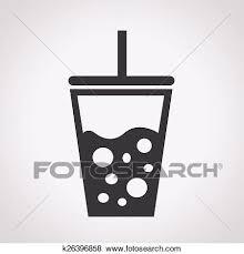 冷たい飲み物 アイコン クリップアート